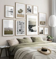 Calm Nature gallery wall Decor, Gallery Wall Frames, Spacious Living Room, Interior, Blue Living Room, Online Wall Art, Gallery Wall, Bedroom Wall, Inspiration Wall