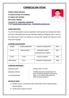 Resume format for Job In India Pdf . Resume format for Job In India Pdf . Simple Resume format for Freshers – Wikirian Cv Format For Job, Format Cv, Resume Format Free Download, Professional Resume Format, Resume Format Examples, Biodata Format Download, Simple Resume Format, Resume Format In Word, Resume Writing Examples