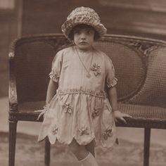 Little flapper girl.