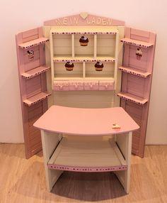 Kaufladen creme rosa Cupcakes