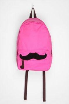 Movember Style | moustache style | moustache backpack