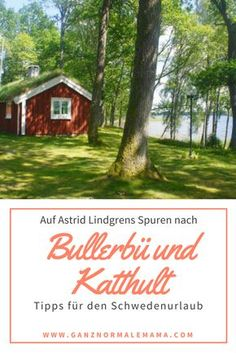 In the footsteps of Bullerbü and Katthult: Sweden vacation with children Through Smaland to Bullerbü and Katthult in the footsteps of Astrid Lindgren& books. A hightligt for the holidays in Sweden – not only for families and children Travel With Kids, Family Travel, Travel Goals, Travel Tips, Sweeden Travel, Travel Around The World, Around The Worlds, Europa Tour, Reisen In Europa