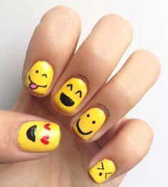 40 pretty nail designs for summer, 3 cute nail art designs for Nail Art For Girls, Nails For Kids, Girls Nails, Nail Art Kids, Panda Nail Art, Kid Nails, Easy Nail Art, Cool Nail Art, Trendy Nails