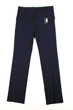 Patrizia Pepe Womens Dress Pants Size 28 US  42 EU Regular Blue Virgin Wool * See this great product.