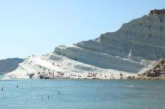 Scala dei Turchi - Realmonte - Agrigento - Sicily  http://www.search.suavehotel.com/City/Agrigento.htm