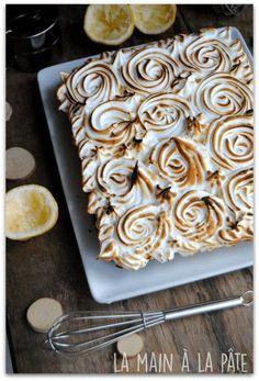 entremets façon tarte au citron meringué