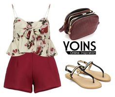 """""""Yoins.com Contest"""" by tania-alves ❤ liked on Polyvore"""