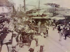 The first electric tram in BKK 1887