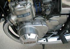 The Suzuki GT 750 - Vintage Motorcycles Online Suzuki Gt 750, Suzuki Bikes, Moto Suzuki, Suzuki Motorcycle, Honda Motorcycles, Cars And Motorcycles, Vintage Bikes, Vintage Motorcycles, Motorcycle Engine