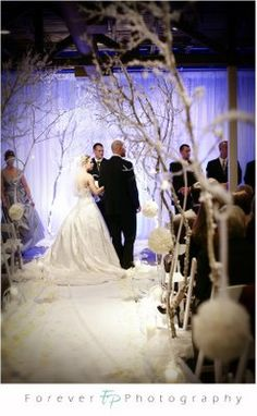 Our Original Winter Wonderland! » Petal Pushers Event Floral Design : Terrace Club : Forever Photography