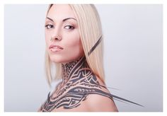 tattoo by Ashot Gevorkyan, via Behance