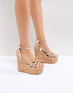 Order ASOS TULITA High Wedges online today at ASOS for fast delivery, multiple payment options and hassle-free returns (Ts&Cs apply). Get the latest trends with ASOS. Nude Wedges, High Wedges, Platform Wedge Sandals, Wedge Heels, High Heels, Shoes Heels, Asos, Ankle Strap Wedges, Leather Ankle Boots