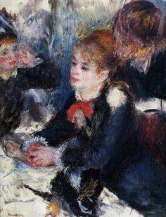 At the Milliner's 1878 | Pierre Auguste Renoir | Oil Painting