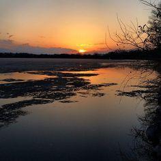 Easter sunset. #lakeminnetonka #minnesota #sunset