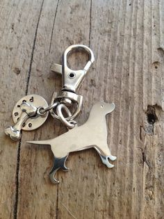 Labrador Retriever Custom Keychain Dog Lover by tagsoup on Etsy, $16.00