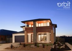 Orbit Homes Aspire 44 - Domain Facade. BEST ON THE BLOCK: If you want a show stopping home that's bound to be best on the block.. Look no further than the Orbit Homes Domain Facade!