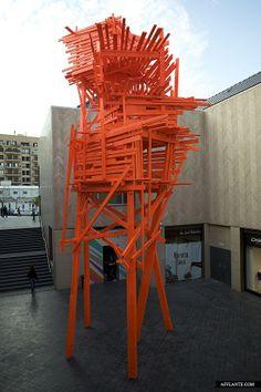Cities Like Open-Air Museums // Arne Quinze | downtown Beirut