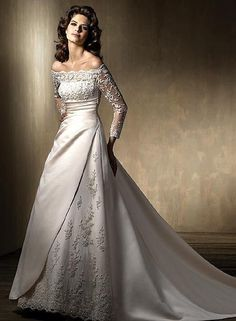 New White/Ivory Wedding Dress Bridal Gown Custom Size 6-8-10-12-14-16+