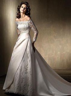 New White/Ivory Wedding Dress Bridal Gown Custom Size 6-8-10-12-14-16+