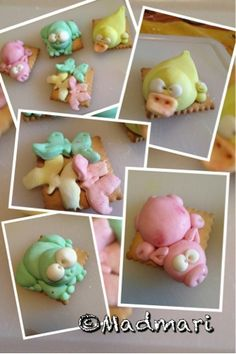 Sugar Paste Zoo  thank you @Mari Madeo