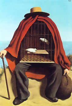 René Magritte - The therapeutist, 1937. Private Collection.
