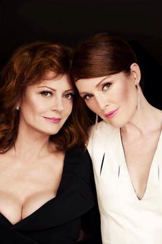 Cannes 2016...Susan Sarandon and Julianne Moore