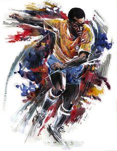 Pele - Paul Trevillion Official Website