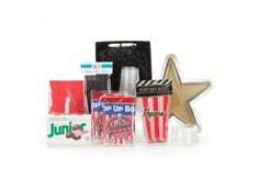 You're a Star Movie Munchies Gift Basket | Whish.ca   Can be shipped anywhere in Canada! Gift Baskets, Canada, Packing, Movie, Stars, Gifts, Sympathy Gift Baskets, Bag Packaging, Favors