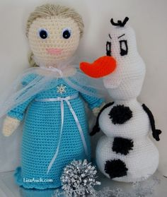 http://crafts.squidoo.com/free-frozen-inspired-crochet-patterns-57427