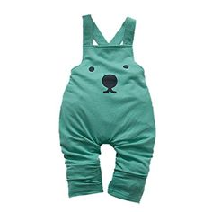 PanDaDa Baby Boys Overalls Bib Pants Harem Pants Cartoon Casual Rompers Trousers -- Click on the image for additional details.Note:It is affiliate link to Amazon.
