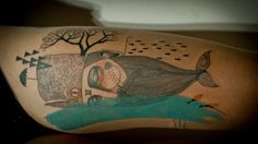 tattoo color tattoo abstract tattoo linework Kevin James
