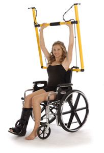 KEFTY » Portable Home Gym | Wheelchair workout |Pilates |Yoga |Physical Therapy |