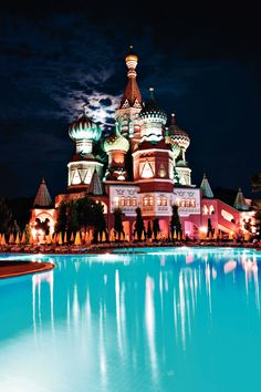 WOW Kremlin Palace, Lara Beach, Antalya, Turkey