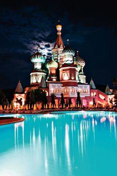 WOW Kremlin Palace, Lara Beach, Antalya, Turkey