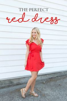 The Perfect Red Dresses Night Outfits, Fall Outfits, Summer Outfits, Dress Summer, Formal Wear, Casual Wear, Formal Dresses, Red Dress Outfit, Dress Outfits