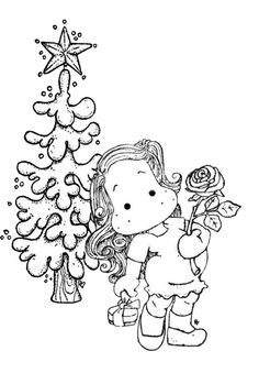 2045 best Adult coloring christmas images on Pinterest in 2018 ...