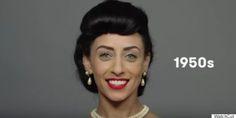 voyez 100 ans de beauté égyptienne en moins de deux minutes (vidéo)   l'esthétique, le beau