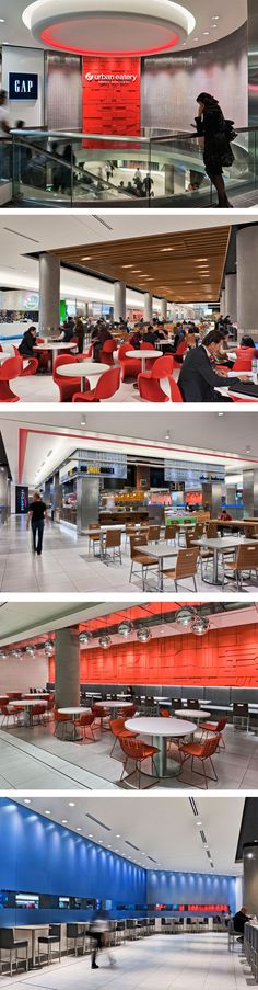 Urban Eatery at Toronto Eaton Centre in Toronto, ON - designed by GH+A (in collaboration with Queens Quay Architects International Inc.)