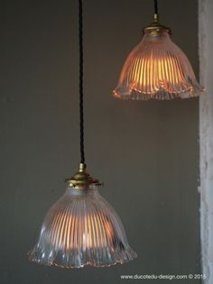 abat jour atelier holophane lampe industrielle