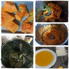 Vellutata #zucca e #patate con #formaggio al tartufo Tomasoni http://blog.giallozafferano.it/apummarolancoppa/vellutata-di-zucca-e-patate/#