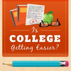 Reports show that student these days actually study less, but they're earning better grades. Is this a sign that college is getting easier?