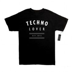 TECHNO LOVER STORE | T-SHIRTS #typography