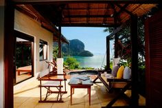 With a private beach, surrounded by cliffs and tropical rainforest. The Paradise Koh Yao Boutique Beach Resort & Spa, Ko Yao Noi, Thailand. Honeymooned in a room just like this! Beach Hotels, Beach Resorts, Hotels And Resorts, Dreams Tulum, Honeymoon Essentials, Thailand Adventure, Yoga Holidays, Holiday Hotel, Plunge Pool