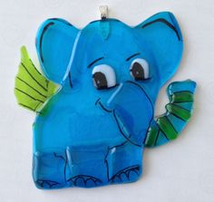 my cute elephant for hanging in window