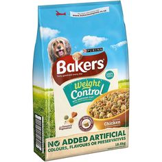 Bakers Adult Weight Control Chicken, Rice and Vegetable Dry Dog Food, 12.5kg #bakers