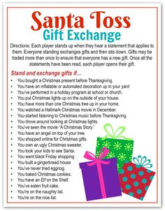 5 Awesome Holiday Gift Exchange Games to Play - Happy-Go-Lucky Yesterday I shared the Best Secret Santa Gift Idea EVER and now it's time to talk about holiday gift exchange games. Today I'm sharing 5 of my favorite Holiday Gift Exchange Games that you all