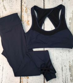 Simple navy fitness bundle #shopping #fashion #style #boutique #love #model #beautiful #girl #photooftheday #cute #instafashion #shoes #stylish #beauty #outfit #dress #me #pretty #styles #girls #eyes #hair #heels #shop #purse #fashionblogger #pink #ootd #jewelry #design #fitness #athletic #gym