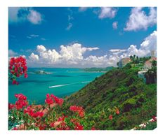 Caribbean Sea, Fajardo, Puerto Rico Photographic Print by George Oze at Art.com