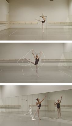 Ballet Rotoscope is an experimental that reveals the geometric beauty of dance through a computer-generated technique known as rotoscoping.