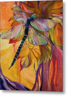 Dragonfly Painting Canvas Prints - Vineyard Fantasy Canvas Print by Karen Dukes Patchwork Quilting, Quilts, Art Quilting, Dragonfly Art, Dragonfly Painting, Dragonfly Jewelry, Dragonfly Tattoo, Fantasy Paintings, Fantasy Art